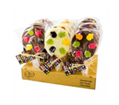 Jelly Frogs Chocolate Lollies